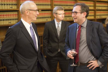3-George Strathy Chief Justice of Ontario, Patrick Monahan, and Lorne Sossin